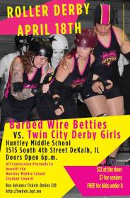 barbed wire betties event